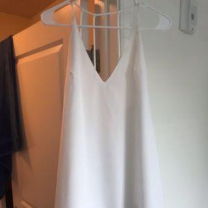 White boutique swing dress!